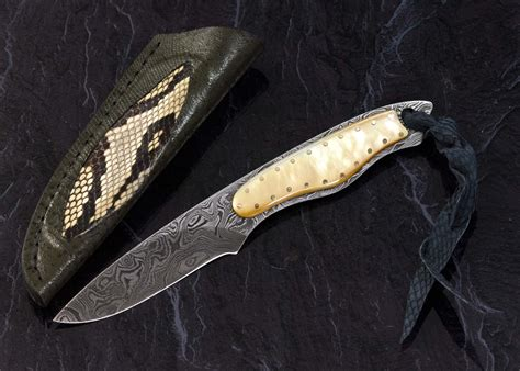 dress knives gold lip pearl and damascus dress knife haslinger knives