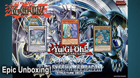 yugioh saga of blue white structure deck epic yugioh saga of the blue white structure