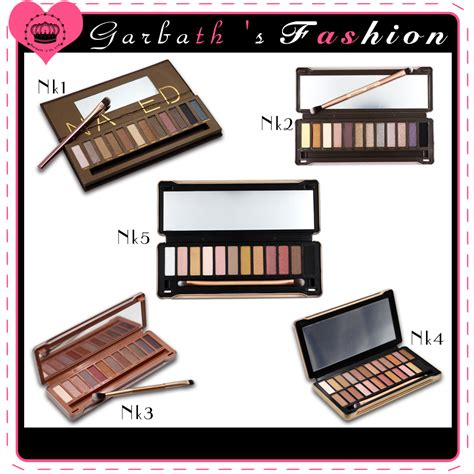 1 Set Makeup Makeover brand eyeshadow palette 1 2 3 4 5 eye shadow 12