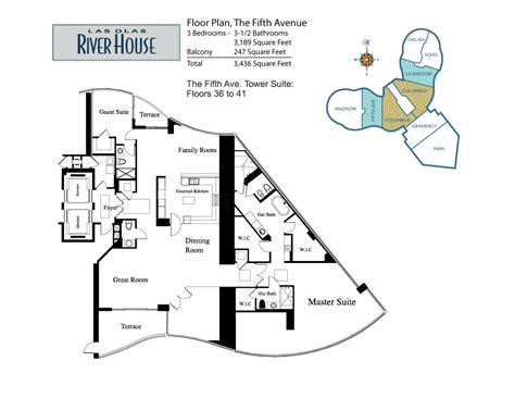 Las Olas River House Floor Plans las olas river house the fifth avenue
