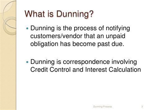 Letter Of Credit Kiting Dunning Process