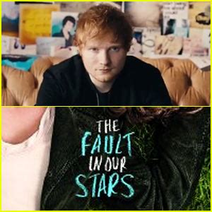 download mp3 ed sheeran the fault in our stars fault in our stars photos news and videos just jared jr