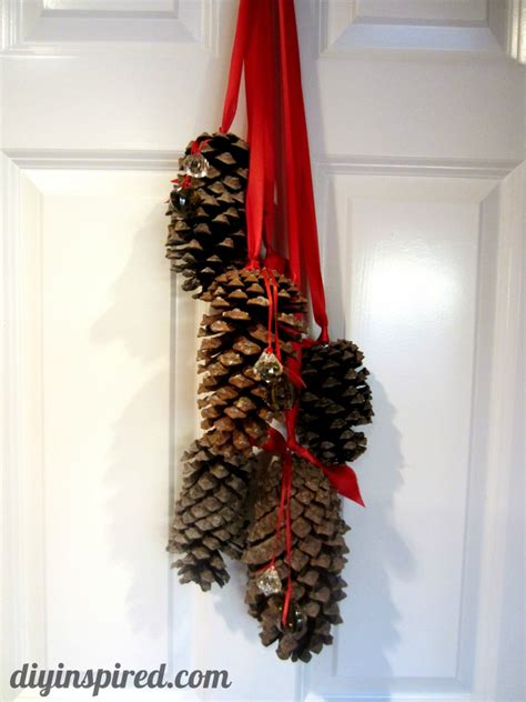 pine cone home decor hanging pine cone decoration diy inspired