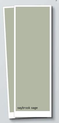 sage green paint benjamin moore saybrook sage hirshfield s color club