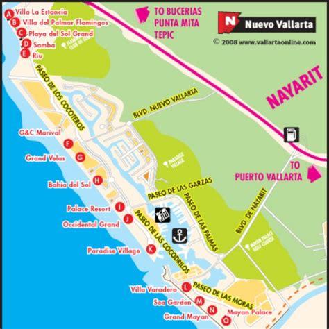 vallarta map of mexico nuevo vallarta map i want to go back take me