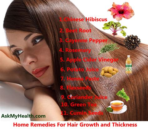 11 home remedies for hair growth and thickness you should