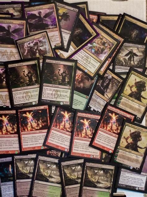 mtg sale magic the gathering card collection for sale classifieds