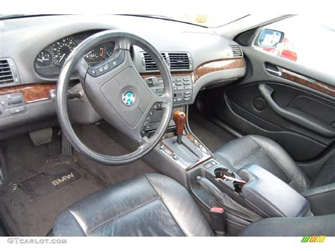 black interior 2000 bmw 3 series 328i sedan photo