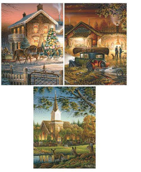 terry redlin shower curtain 10 pk terry redlin puzzles ltd commodities