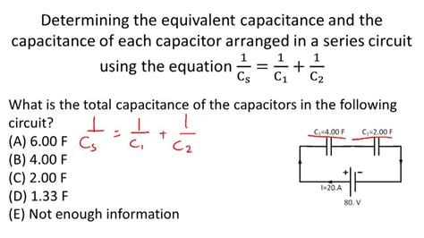 what is the equivalent capacitance of the three capacitors in the figure 20 60 10 what is the equivalent capacitance of the capacitor network 28 images overview definition of