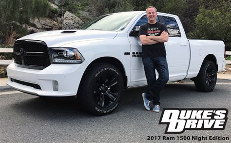 Chris DukeDuke's Drive: 2017 Ram 1500 Night Edition Quad
