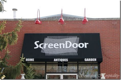 the screen door thrifting in asheville nc southern