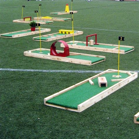 backyard golf game inspiration for something to make for kids party kids