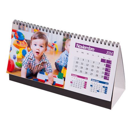 Calendario De Mesa Calendario De Mesa Personalizado