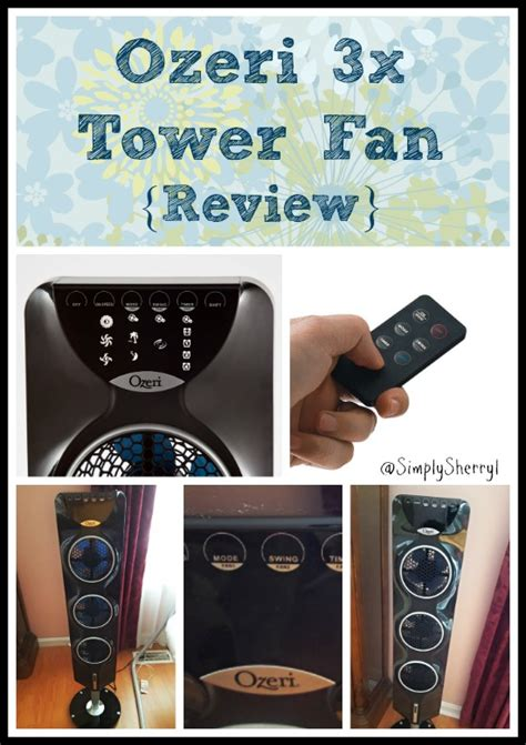 ozeri 3x tower fan ozeri 3x tower fan review simply sherryl