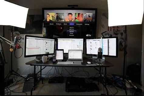 best desk ever the coolest computer setup ever best gaming pc setup