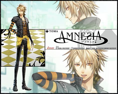 amnesia anime character name toma from amnesia world