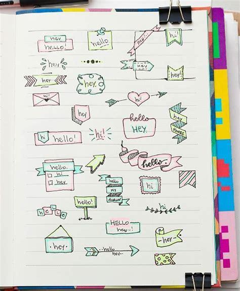 decorar titulos tumblr titulos de escritura cuadernos decoracion pinterest