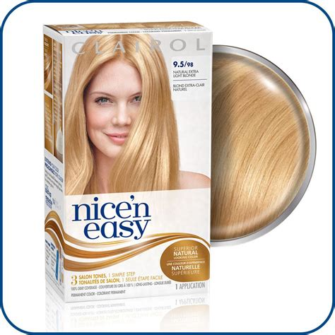 clairol nice n easy natural neutral blonde new style for clairol nice n easy 9 5 98 natural extra light neutral