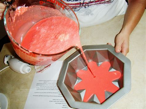 how to make jello in a bundt pan