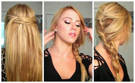 hairstyles easy and quick and cute easy hairstyles pictures perfect hairstyles