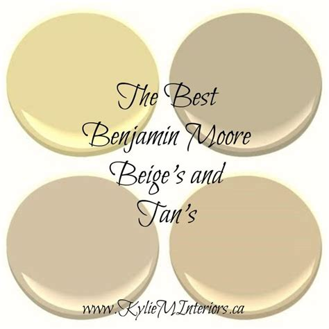 colors that go with manchester the 5 best benjamin neutral paint colours beige