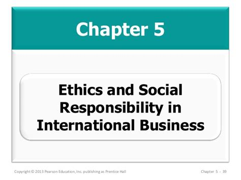 Business Ethics And Corporate Social Responsibility Mba Notes by Mba 713 Chapter 05