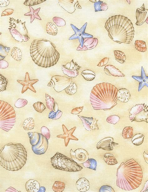 fabric pattern library seashell fabric seashell fabric by timeless treasures
