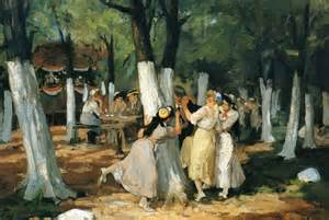 The Picnic The Picnic Grounds 1906 1907 Sloan