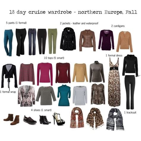europe cruise wardrobe fall travel style