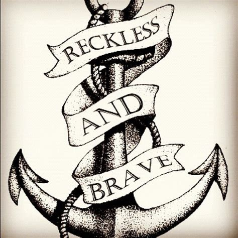 reckless tattoo anchor tattoos and designs page 234