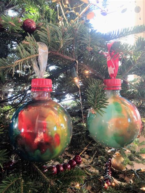 lady greenwise reuse holiday lights year round for green upcycle diy christmas ornament using round pop bottle