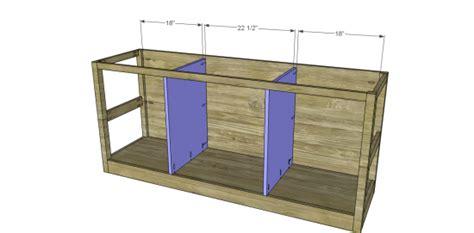 media cabinet woodworking plans woodshop plans
