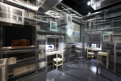 Library Interior Design Concept by N H D M Nam June Paik Library