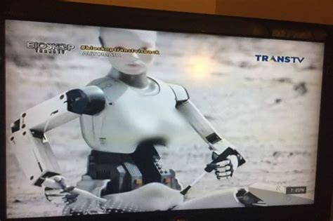 film automata adalah dada robot dalam film automata yang tayang di trans tv
