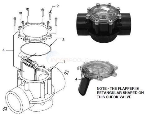 jandy valve parts diagram jandy cpvc check valve parts inyopools