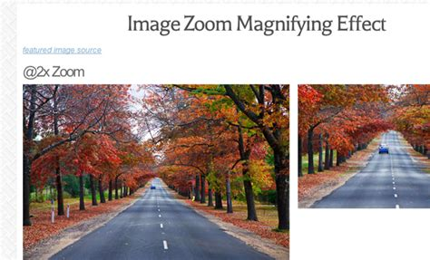 tutorial jquery zoom image how to code an image zoom hover display with jquery