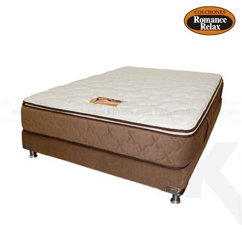 colchon de cama kombo base cama colchon de espuma coral semidoble