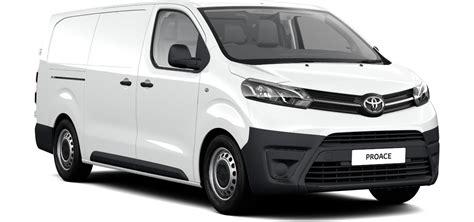 Toyota Commercial Vans New Proace Vans And Commercials Toyota Ireland