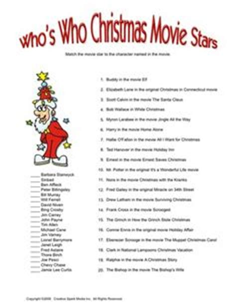 printable christmas movie games christmas movie quotes game christmas pinterest
