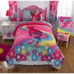 dreamwork s trolls poppy reversible twin full bedding walmart com