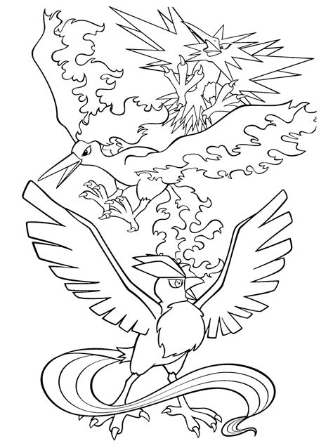 pokemon coloring pages moltres the legendary pokemon coloring pages pokemon go coloring