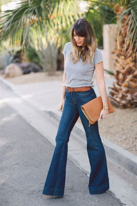 how to wear flare pants flare pants are in style what shoes to wear with flared jeans glam radar