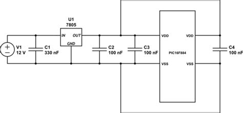 regulator smoothing capacitor pic are additional smoothing capacitors required of a voltage regulator electrical