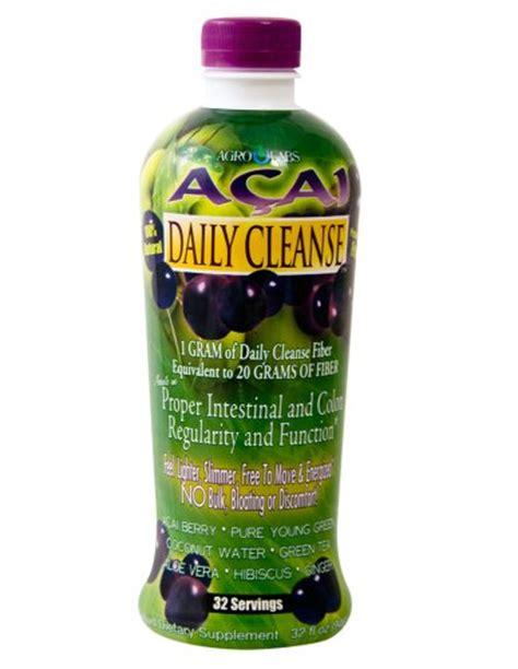 B12 And Niacin Detox by Agrolabs Acai Daily Cleanse 32 Fluid Ounce Bottle