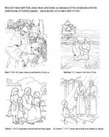 lds coloring pages faith in jesus christ primary talks on pinterest primary lessons primary