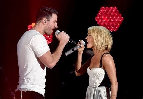 No One Shuts Up Sings At Grammy Awards by Carrie Underwood And Sam Hunt S Grammy Performance