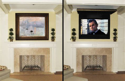 How To Hide A Tv In Your Living Room by Hide Tv Wires Speakers With Traditional Miami