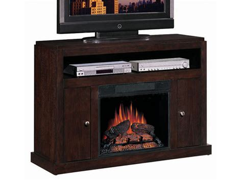 espresso electric fireplace tv stand fireplaces and mantels