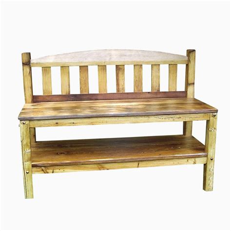 Rustic Storage Bench Buy A Handmade Rustic Reclaimed Wood Storage Bench Made To Order From The Strong Oaks Woodshop